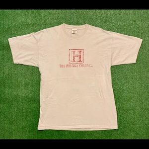 The History Channel Comfort Colors T-shirt. Large.